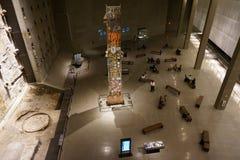 9/11 musée commémoratif, point zéro, WTC Photographie stock libre de droits