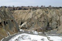 Musée d'air ouvert de Goreme dans Cappadocia Image stock