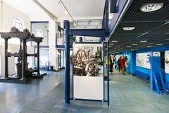 Musée d'approvisionnement en eau de Prague, usines hydrauliques de Podoli, Prague, tchèque Photo stock