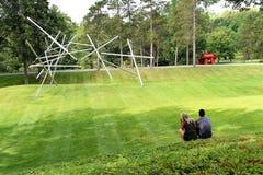 Musée d'Art d'air ouvert de roi de tempête de New York Etats-Unis Photos libres de droits