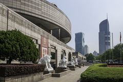 Musée d'Art Changhaï Photo libre de droits