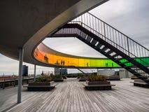 Musée d'Art contemporain Aarhus, Danemark d'Aros Image stock