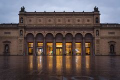 Musée d'Art de Hambourg Kunsthalle, Hambourg, Allemagne photos libres de droits