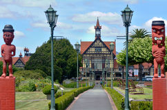 Musée d'Art de Rotorua et histoire - Nouvelle-Zélande Photos libres de droits