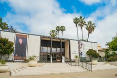 Musée d'Art de Timken en beau et historique parc de Balboa photo stock