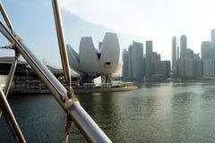 Musée d'art et de la Science, bord de mer de Singapour Photographie stock libre de droits
