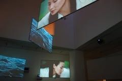 Musée d'art moderne : En janvier 2014 13 Image libre de droits