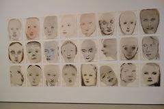 Musée d'art moderne : En janvier 2014 8 Photos stock