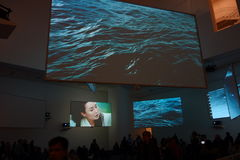 Musée d'art moderne : En janvier 2014 11 Image stock