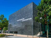Musée d'Art, Vaduz, principauté de la Liechtenstein images stock