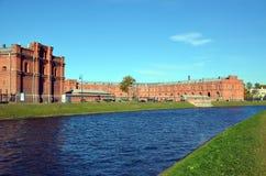 Musée d'artillerie à St Petersburg Image stock