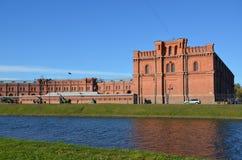 Musée d'artillerie à St Petersburg Image libre de droits