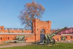 Musée d'artillerie dans le St Petersbourg, Russie Photographie stock