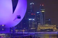 Musée d'ArtScience à Singapour Image libre de droits