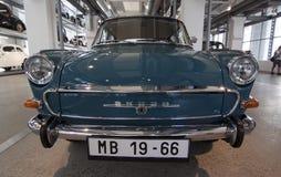 Musée d'automobile de Skoda image libre de droits