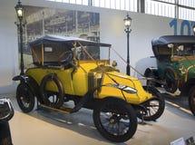 Musée d'Autoworld, Brusells, Belgique, le 10 juillet 2016 Photographie stock