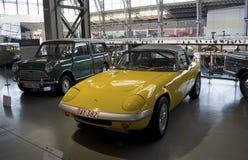 Musée d'Autoworld, Bruxelles, Belgique, le 10 juillet 2016 Images stock