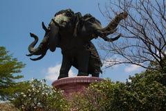 Musée d'Erawan à Bangkok, Thaïlande Images libres de droits