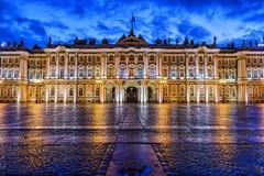 Musée d'ermitage d'état, St Petersburg Photographie stock libre de droits