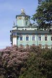 Musée d'ermitage dans la ville de St Petersburg, Russie Image stock