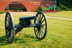Musée d'histoire de Manassas Images libres de droits
