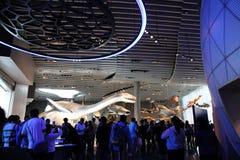 Musée d'histoire naturelle de Changhaï Photographie stock libre de droits