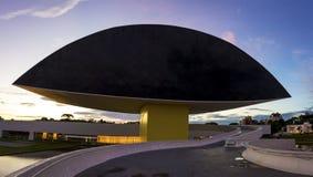 Musée d'Oscar Niemeyer Photographie stock