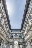 Musée d'Uffizi de degli de Galleria à Florence, Italie photos stock