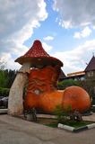 Musée d'une botte dans la ville de Domodedovo Image stock
