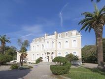 Musée dans le palais de Nikola 1, Monténégro Images stock