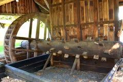 Musée dans le village Rosia Montana - vieille mine d'or romaine Rosia Montana, la Transylvanie Photos libres de droits
