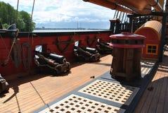 Musée de bateau Images libres de droits