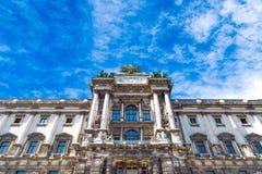 Musée de Burg de Neue à Vienne images stock