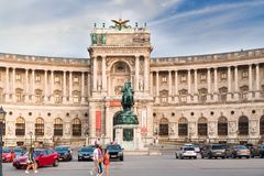 Musée de Burg de Neue à Vienne photos libres de droits