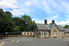 Musée de campagne de vallées, Hawes, North Yorkshire Photos libres de droits