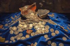 Musée de château de Trakai en Lithuanie Photographie stock