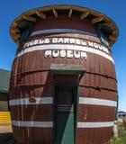 Musée de Chambre de baril de conserves au vinaigre Image stock