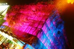 Musée de Changhaï de verre Photographie stock libre de droits