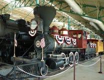Musée de chemin de fer de la Pennsylvanie, Strasburg, Pennsylvanie, Etats-Unis photographie stock