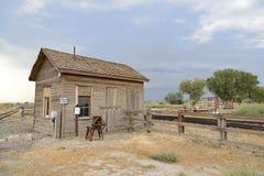 Musée de chemin de fer de lois, la Californie photographie stock