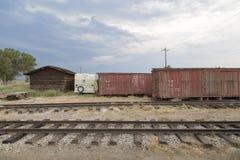 Musée de chemin de fer de lois, la Californie image stock