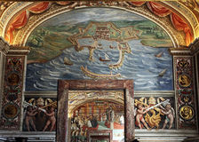 Musée de chrétien de Vatican photo libre de droits