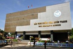 Musée de débris de guerre de Vietnam images libres de droits