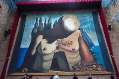 Musée de Dali à Figueres, Espagne Photo libre de droits