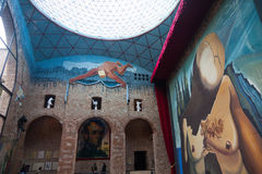 Musée de Dali à Figueres, Espagne Images libres de droits