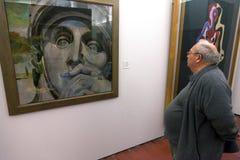 Musée de Dali à Figueres, Espagne Photographie stock libre de droits