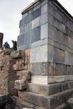 Musée de Delphes La Grèce Image libre de droits