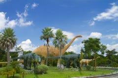 Musée de dinosaure Photos stock