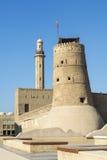 Musée de Dubaï de fort d'Al Fahidi Images stock