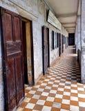 Musée de génocide de Tuol Sleng Image stock